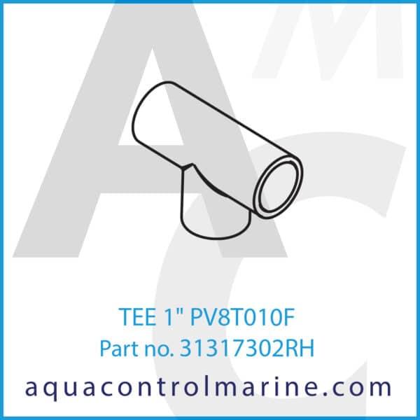 TEE 1inch PV8T010F