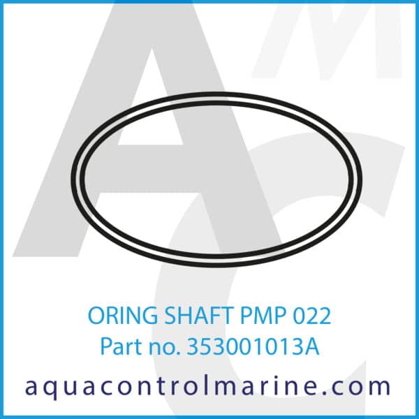 ORING SHAFT PMP 022