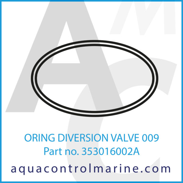 ORING DIVERSION VALVE 009