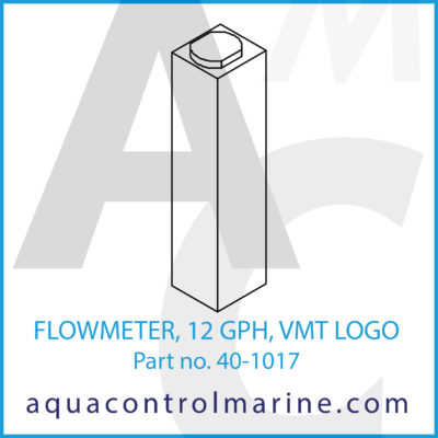 FLOWMETER 12 GPH VMT LOGO