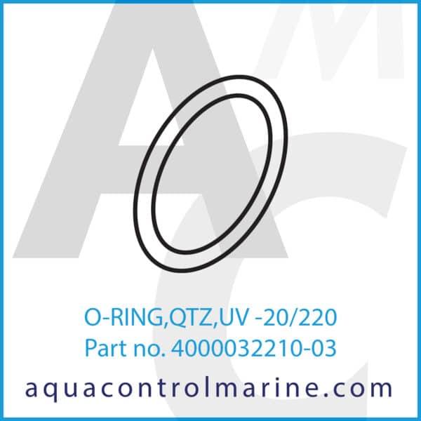 O-RING,QTZ,UV -20_220