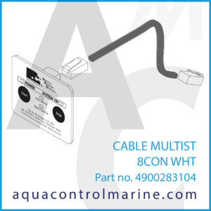 CABLE MULTIST 8CON WHT - part