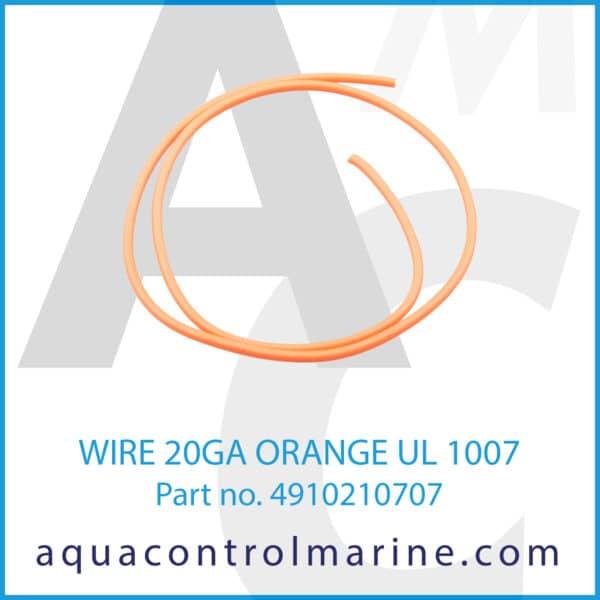 WIRE 20GA ORANGE UL 1007
