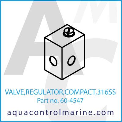 VALVE REGULATOR COMPACT 316SS