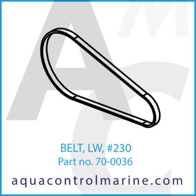 BELT LW 230