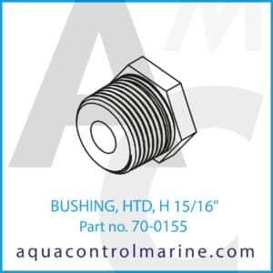 BUSHING, HTD, H 15_16inch