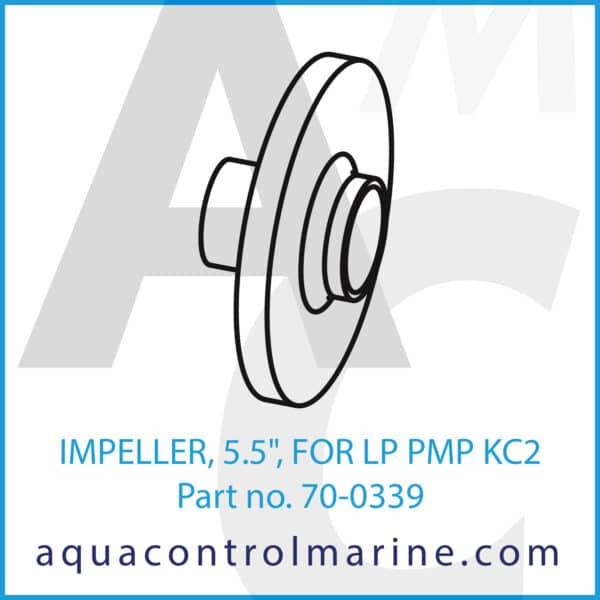 IMPELLER, 5.5inch, FOR LP PMP KC2