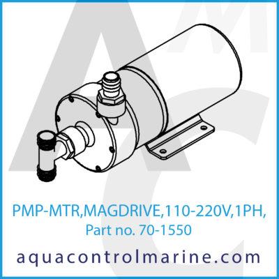 PUMP & MOTOR ASSY MAG DRIVE 220-230/1/50/60