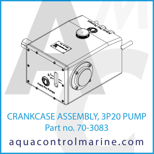 CRANKCASE ASSEMBLY, 3P20 PUMP