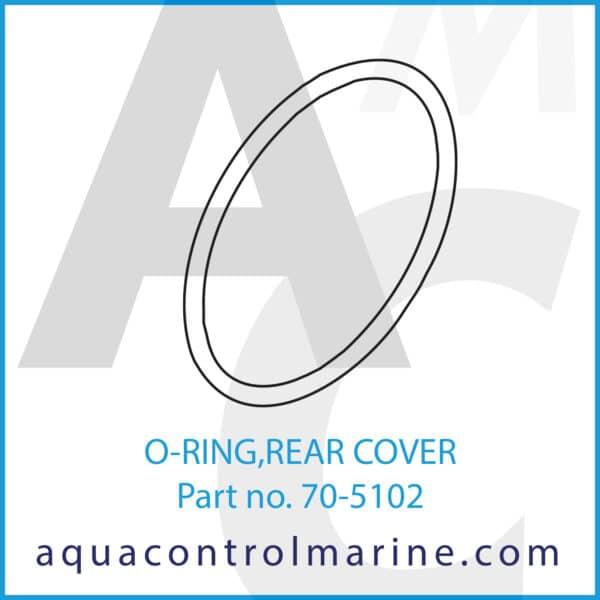 O-RING,REAR COVER