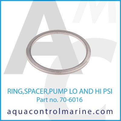 RING SPACER PUMP LO AND HI PSI