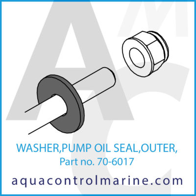 WASHER PUMP OIL SEAL OUTER