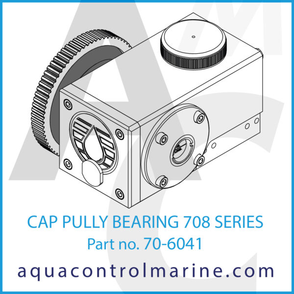 CAP PULLY BEARING 708 SERIES