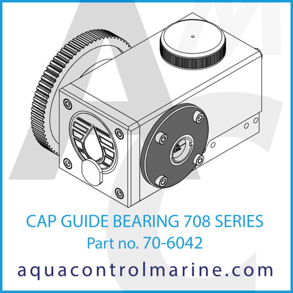 CAP GUIDE BEARING 708 SERIES