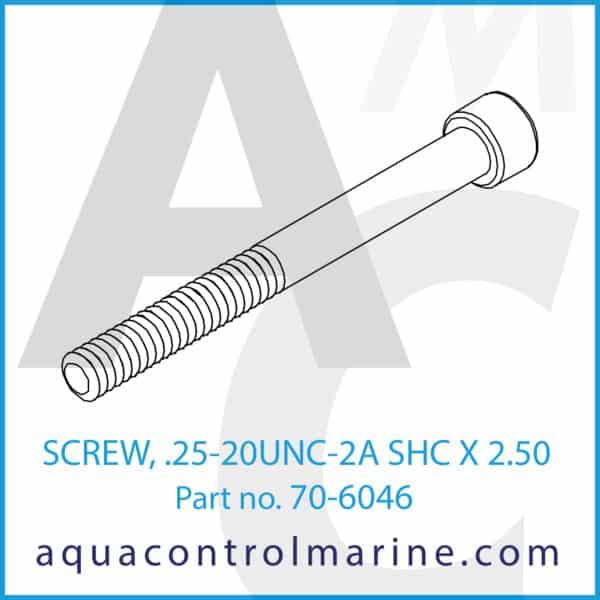 SCREW, .25-20UNC-2A SHC X 2.50