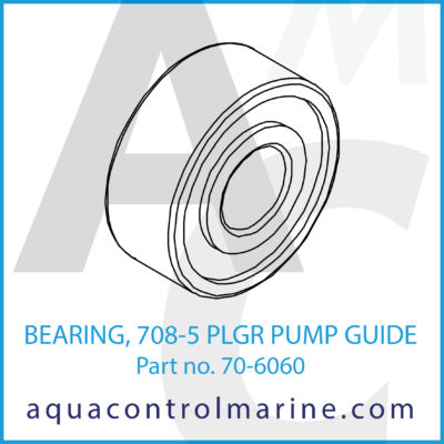 BEARING 708-5 PLGR PUMP GUIDE
