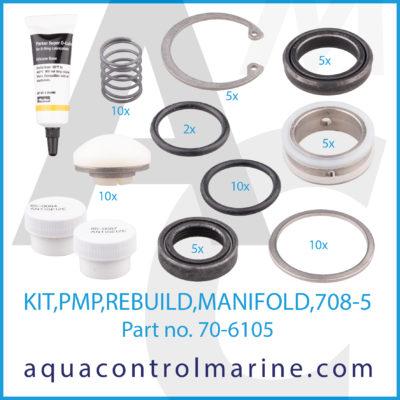 KIT PMP REBUILD MANIFOLD 708-5