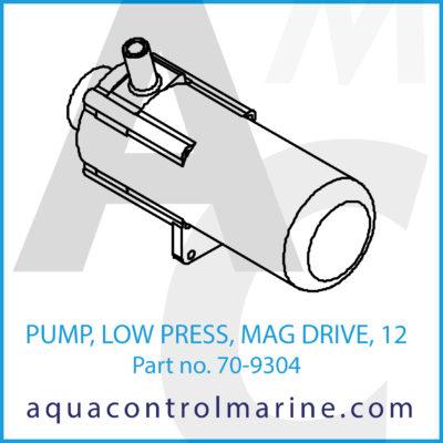 PUMP LOW PRESS MAG DRIVE 12 VDC 1 AMP USED ON LW