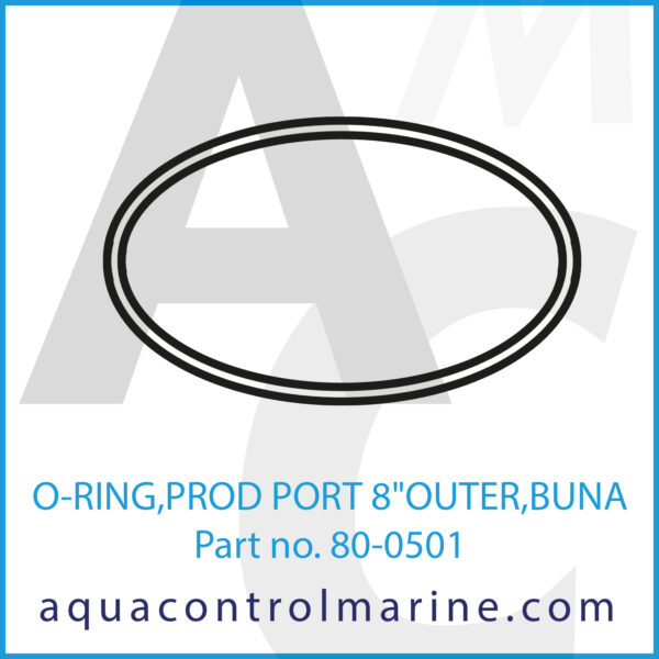 O-RING,PROD PORT 8inch OUTER,BUNA