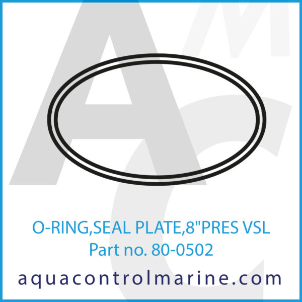 O-RING,SEAL PLATE,8inch PRES VSL