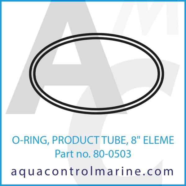 O-RING, PRODUCT TUBE, 8inch ELEME