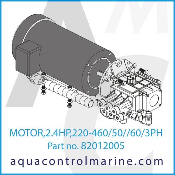MOTOR,2.4HP,220-460_50__60_3PH - part