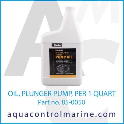 OIL PLUNGER PUMP PER 1 QUART