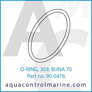 O-RING, 309, BUNA 70