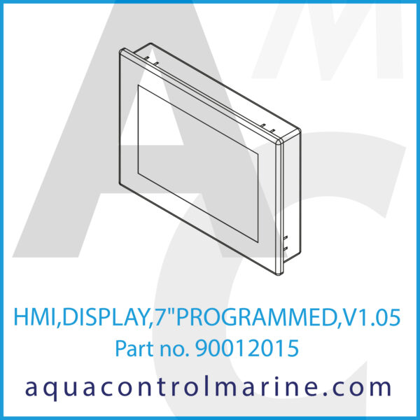 HMI,DISPLAY,7inchPROGRAMMED,V1.05