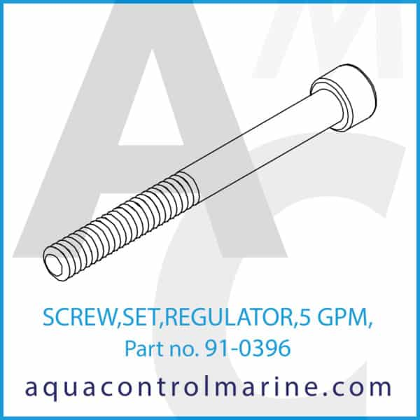 SCREW,SET,REGULATOR,5 GPM