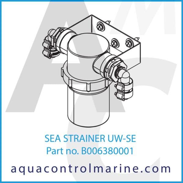 SEA STRAINER UW-SE