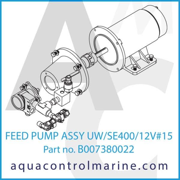 FEED PUMP ASSY UW_SE400_12V#15