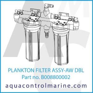 PLANKTON FILTER ASSY-AW DBL