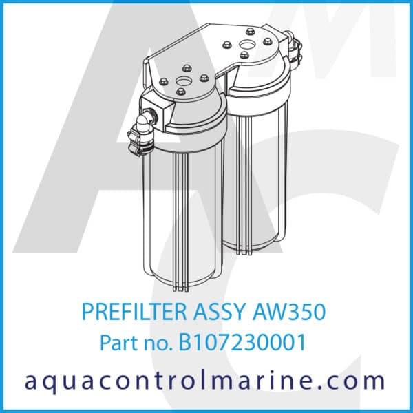 PREFILTER ASSY AW350