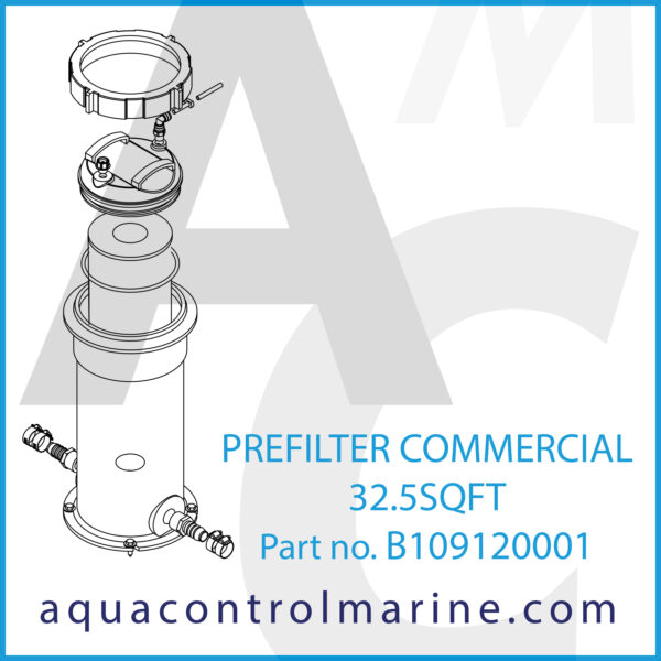 PREFILTER COMMERCIAL 32.5SQFT