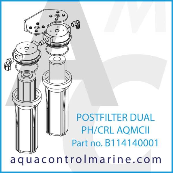 POSTFILTER DUAL PH_CRL AQMCII