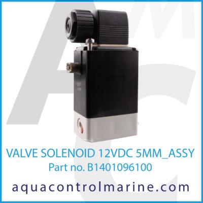 VALVE SOLENOID 12VDC 5MM ASSY