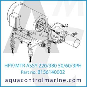 HPP_MTR ASSY 220_380 50_60_3PH