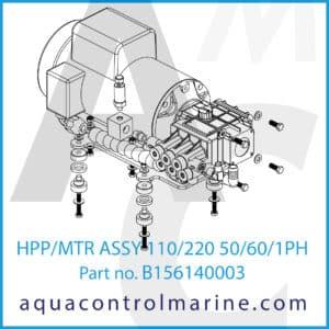 HPP_MTR ASSY 110_220 50_60_1PH