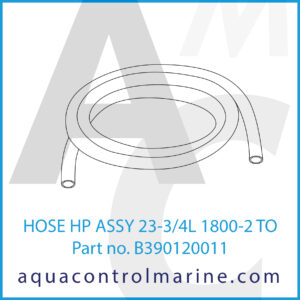HOSE HP ASSY 23-3_4L 1800-2 TO