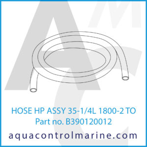 HOSE HP ASSY 35-1_4L 1800-2 TO