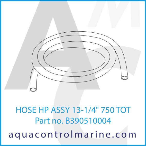 HOSE HP ASSY 13-1_4inch 750 TOT
