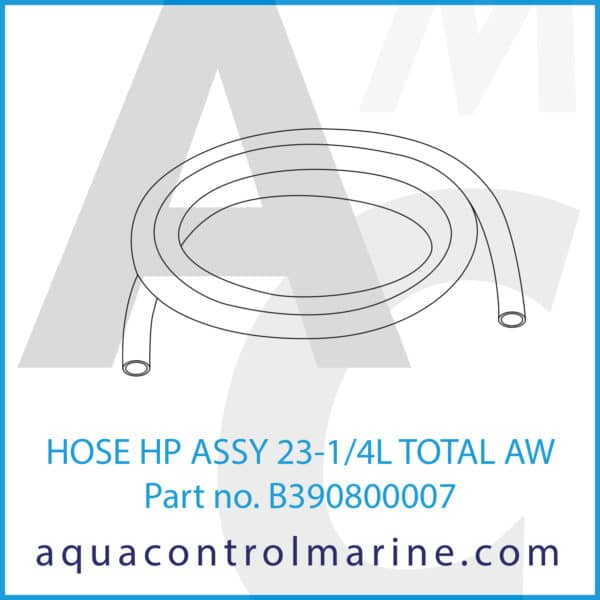 HOSE HP ASSY 23-1_4L TOTAL AW