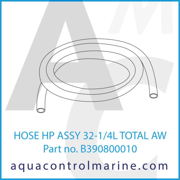 HOSE HP ASSY 32-1_4L TOTAL AW