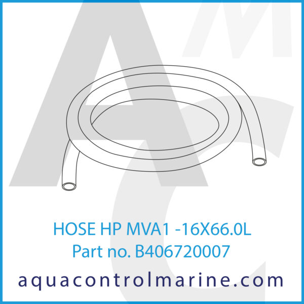 HOSE HP MVA1 -16X66.0L