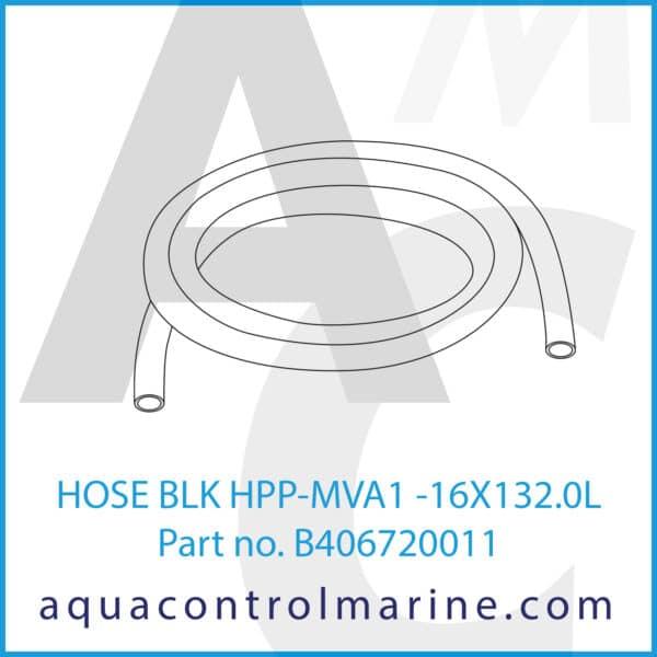 HOSE BLK HPP-MVA1 -16X132.0L