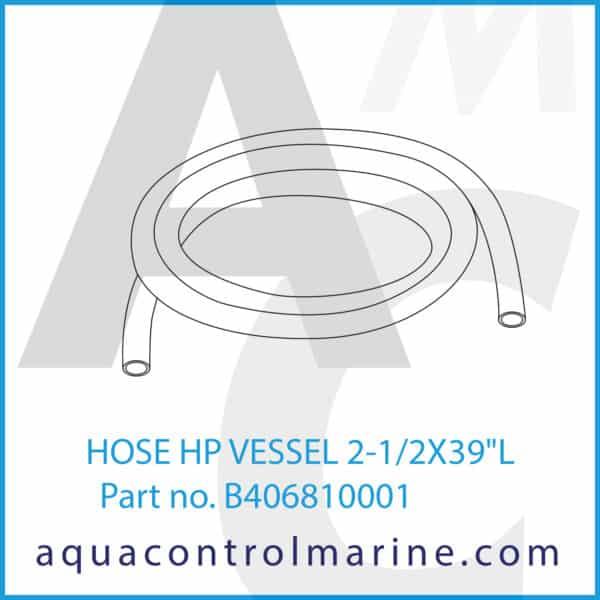 HOSE HP VESSEL 2-1_2X39inch L