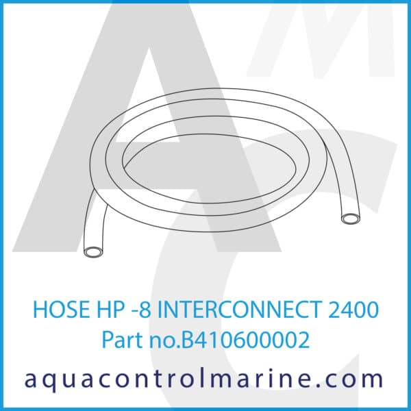 HOSE HP -8 INTERCONNECT 2400