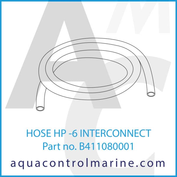 HOSE HP -6 INTERCONNECT