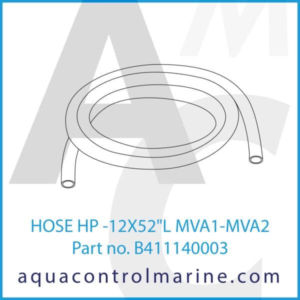 HOSE HP -12X52inch L MVA1-MVA2